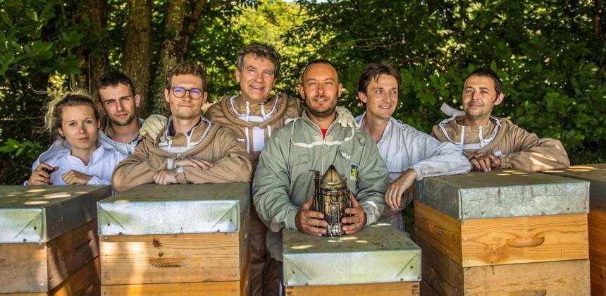 Une école d'apiculture vient d'ouvrir à Dijon