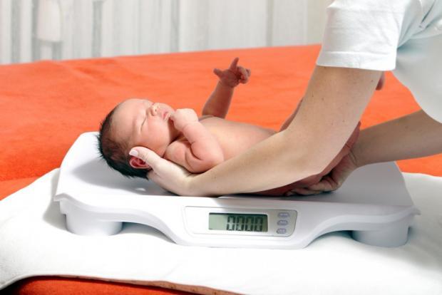 Quel est le poids de bébé à la naissance ?